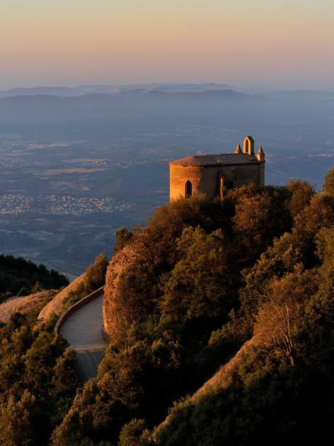 L'ermita de Sant Joan des de les Escales de Jacob